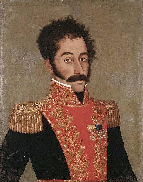 Retrato de Bolívar