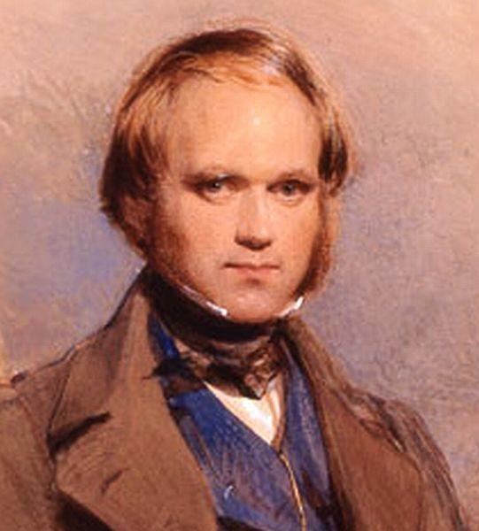 Charles Darwin joven
