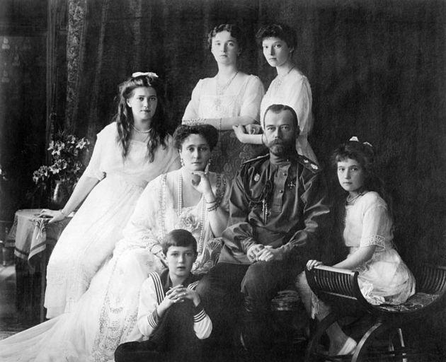 Familia Romanov de Rusia