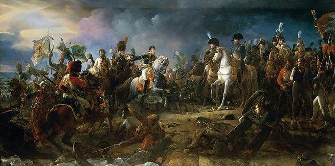 Batalla de Austerlitz. Bonaparte