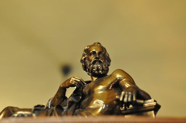 Platón, escultura