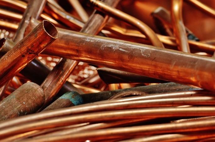 cobre metales reciclaje