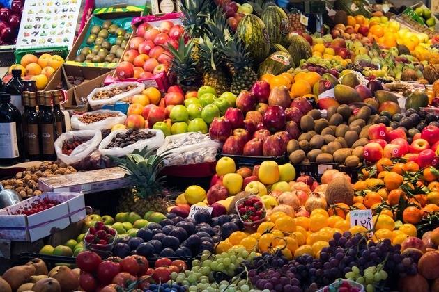 dieta mediterránea frutas y vegetales