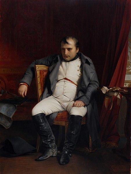 Napoleón abdicado