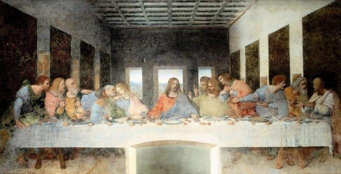 última Cena, Da Vinci